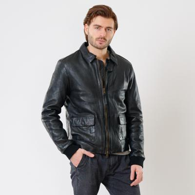 Куртка кожаная Interno42 X1519